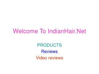 Indian Human Hair,  Indian Hair Accessories - IndianHair.net