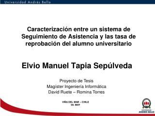 Elvio Manuel Tapia Sepúlveda