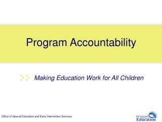 Program Accountability