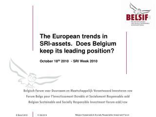 Belgisch Forum voor Duurzaam en Maatschappelijk Verantwoord Investeren vzw