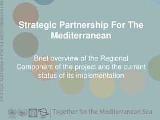 Strategic Partnership For The Mediterranean