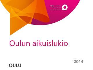 Oulun aikuislukio