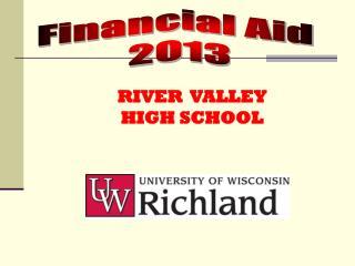 Financial Aid  2013