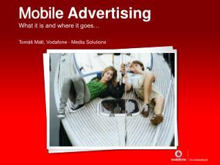Mobil e Advertising