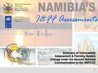 Ministry of Environment and Tourism Government of the Republic of Namibia