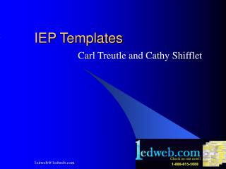 IEP Templates