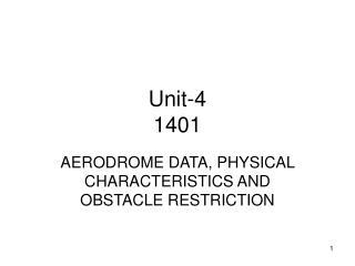 Unit-4 1401