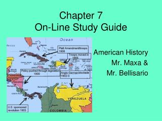 Chapter 7  On-Line Study Guide