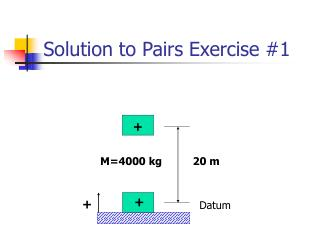 Solution to Pairs Exercise #1