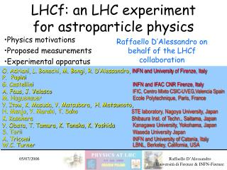 LHCf: an LHC experiment for astroparticle physics