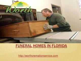 funeral homes in Florida
