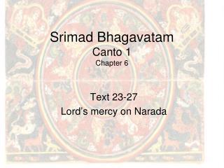 Srimad Bhagavatam Canto 1 Chapter 6
