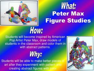 Peter Max  Figure Studies