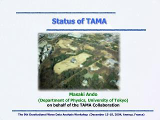 Status of TAMA