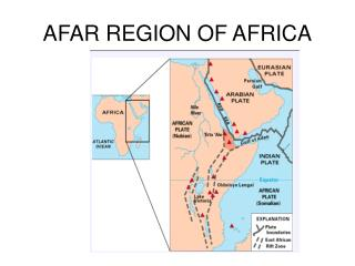 AFAR REGION OF AFRICA