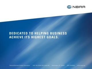 & Convention NBAA Local/Regional Business Aviation Associations Networking Session