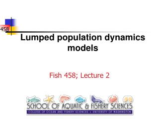 Lumped population dynamics models