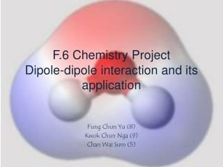 F.6 Chemistry Project Dipole-dipole interaction and its application