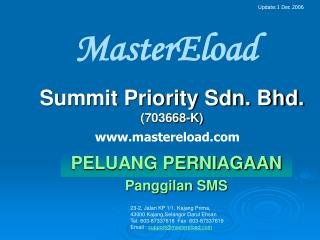 Summit Priority Sdn. Bhd.  (703668-K)