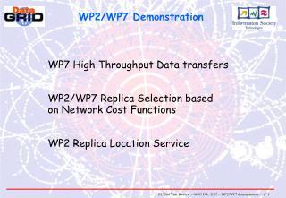 WP2/WP7 Demonstration