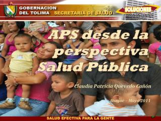 APS desde la perspectiva Salud Pública