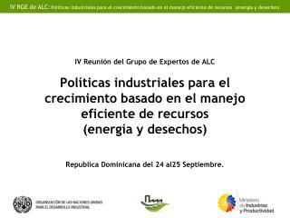País: Republica Dominicana Institución: Ministerio de Medio Ambiente y Recursos Naturales
