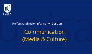 Professional Major Information Session