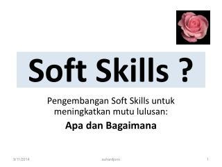 Soft Skills ?