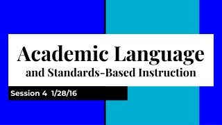 Standards-Based Teaching: Changing Perspectives