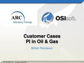 Customer Cases PI in Oil & Gas