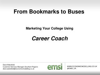 From Bookmarks to Buses