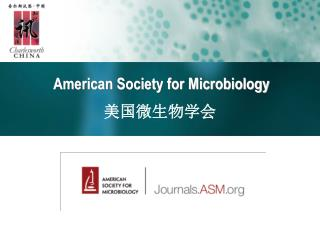 American Society for Microbiology ???????