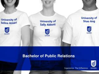 Bachelor of Public Relations