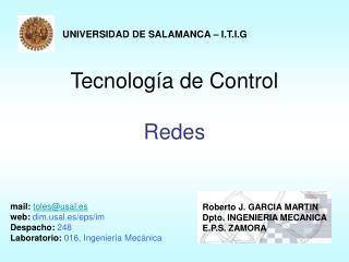 Tecnología de Control Redes