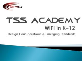 WiFi  in K-12