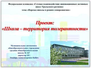 Федеральная площадка «Сетевое взаимодействие инновационных активных школ Уральского региона»
