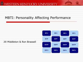 MBTI: Personality Affecting Performance