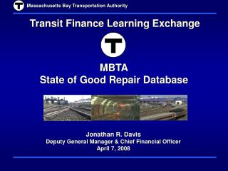 MBTA State of Good Repair Database