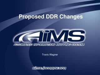 Proposed DDR Changes