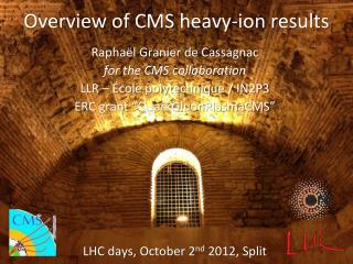 Overview  of CMS  heavy -ion  results