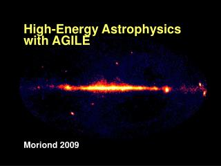 High-Energy Astrophysics with AGILE