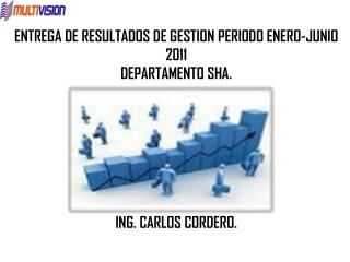 ENTREGA DE RESULTADOS DE GESTION  PERIODO ENERO-JUNIO 2011 DEPARTAMENTO SHA. ING. CARLOS CORDERO.