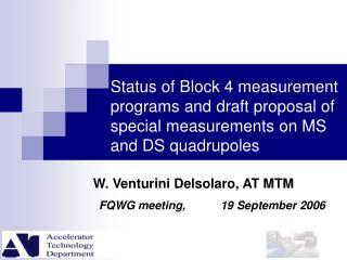 W. Venturini Delsolaro, AT MTM