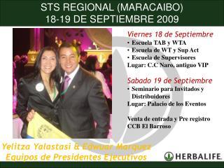 STS REGIONAL (MARACAIBO)  18-19 DE SEPTIEMBRE 2009 PATROCINADORES