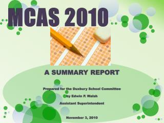 MCAS 2010