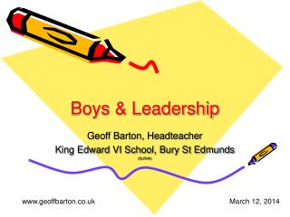 Boys  Leadership