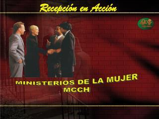 MINISTERIOS DE LA MUJER MCCH