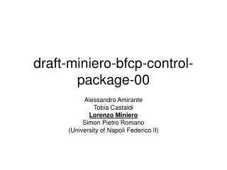 draft-miniero-bfcp-control-package-00
