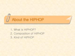 About the HIPHOP