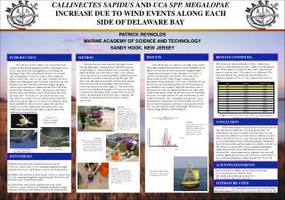 PATRICK REYNOLDS MARINE ACADEMY OF SCIENCE AND TECHNOLOGY SANDY HOOK, NEW JERSEY